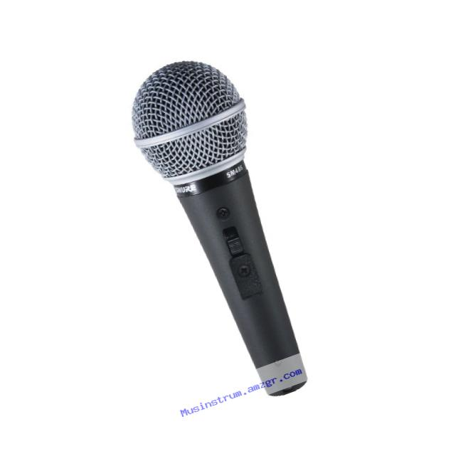 Shure SM48S-LC - Microphone with on/off switch