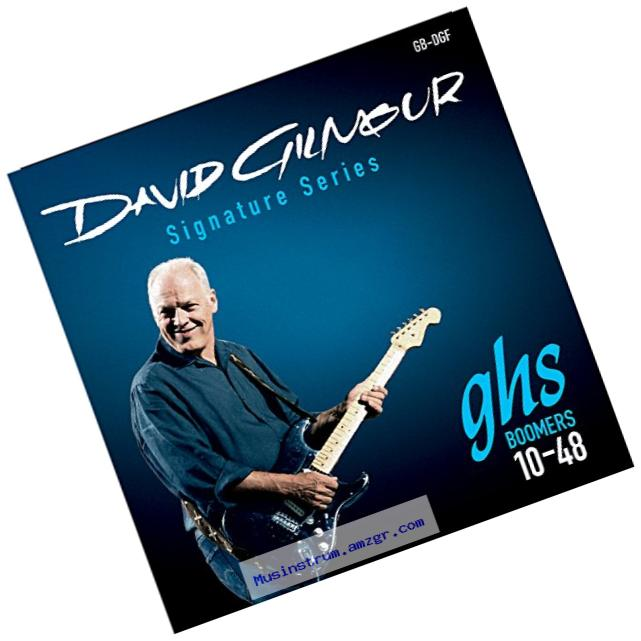 GHS Strings GB-DGF David Gilmour Signature Series, Nickel-Plated Electric Guitar Strings (.010-.048)